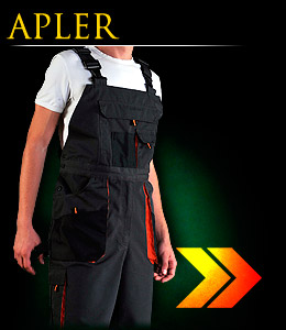 APLER - Protective dungaree trousers.