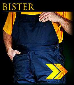 BISTER - Protective dungaree trousers.