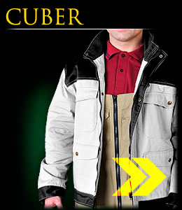 CUBER - Protective jacket with fleece insulation.