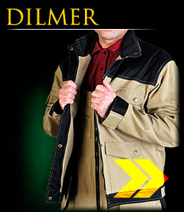 DILMER - Protective jacket with fleece insulation.