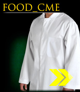 FOOD_CME - Protective apron, men`s.