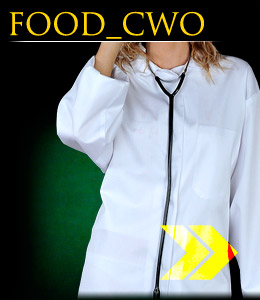 FOOD_CWO - Protective apron, women`s.