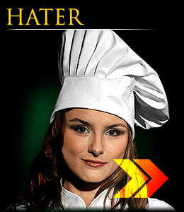 HATER - High cooking hat, Chef`s Kitchen series.