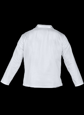 HCL_JBU - Protective sweatshirt with long sleeves, fastened.