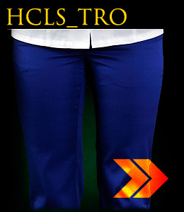 HCLS_TRO - Ladies' safety trousers which reach to the waist.