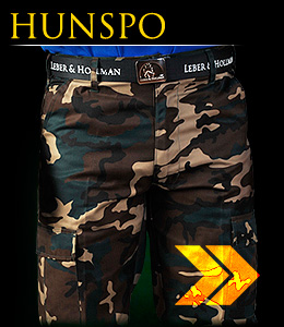HUNSPO - Safety fatigue trousers which reach to the waist.