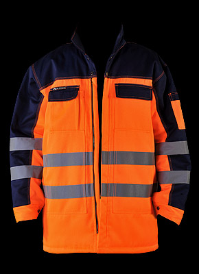 JACWINTER - Winter jacket made from fluorescent fabric.
