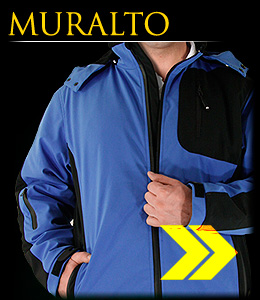 MURALTO - Safety jacket made of SOFTSHELL material.