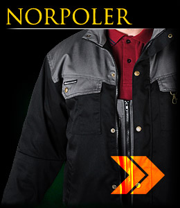 NORPOLER -  Winter jacket insulated with fur inside.