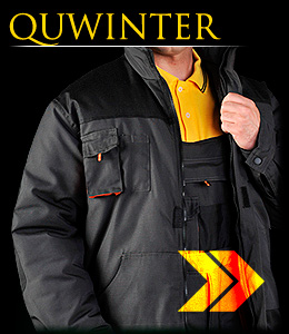 QUWINTER - Insulated safety jacket.