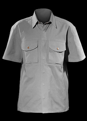 SHIRTER_S - Short-sleeved cotton shirt