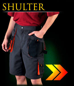 SHULTER - Protective trousers with short legs.