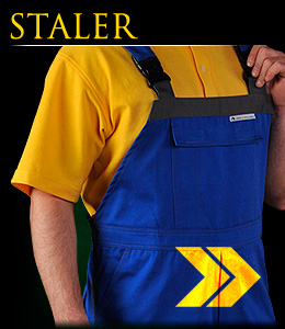STALER - Safety dungarees.