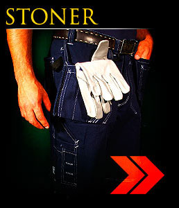STONER - Protective cotton trousers.