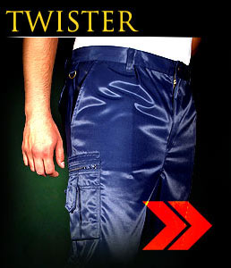TWISTER - Protective trousers made of high quality material.