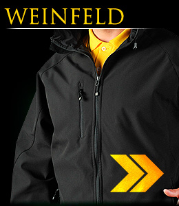 WEINFELD - Safety jacket made of SOFTSHELL material.