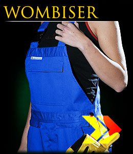 WOMBISER - Safety ladies dungarees.