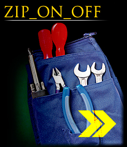 ZIP_ON_OFF - Pocket for tools.